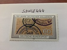 Buy Germany Customs union mnh 1983