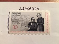 Buy Germany Grimm brothers mnh 1985