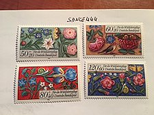 Buy Germany Welfare Miniatures mnh 1985