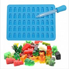 Buy gummy bear fashion deer silicon mould