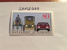 Buy Germany Automobile centenary mnh 1986