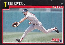 Buy Luis Rivera #271 - Red Sox 1991 Score Baseball Trading Card