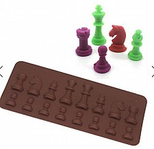 Buy chess fashion silicon mould