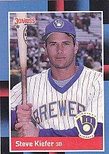Buy Steve Kiefer #542 - Brewers 1988 Donruss Baseball Trading Card