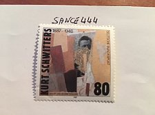 Buy Germany K. Schwitters mnh 1987