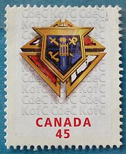 Buy Stamp Canada 1997 The 100th Anniversary of the Knights of Columbus, Welfare Charity