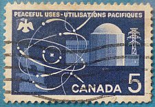 Buy Stamp Canada 1966 Peaceful Uses of Atomic Energy 5c