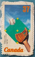 Buy Stamp Canada 1988 The 150th Anniversary of Baseball in Canada 37c