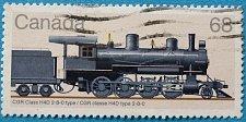Buy Stamp Canada 1985 Steam Railway Locomotives CGR Klasse H4D 68c