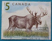 Buy Stamp Canada 2003 Animals Moose (Alces alces) $5