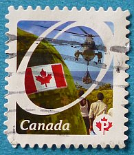 Buy Stamp Canada 2011-2013 Definitive Canadian Pride Helicopter Relief