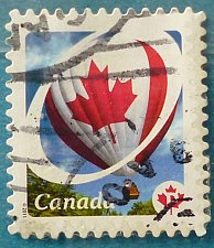 Buy Stamp Canada 2011-2013 Definitive Canadian Pride Hot Air Balloon