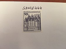 Buy Germany Castle 10p top imperf. mnh 1987