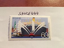 Buy Germany Hamburg harbour mnh 1989