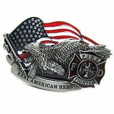 Buy New American Fire Department Belt Buckle