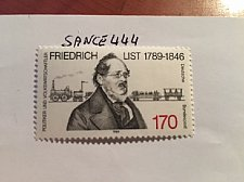 Buy Germany Friedrich List mnh 1989