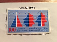 Buy Germany Social insurance mnh 1989