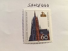 Buy Germany 750 years Frankfurt dom mnh 1989