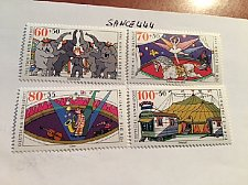 Buy Germany Youth Circus mnh 1989