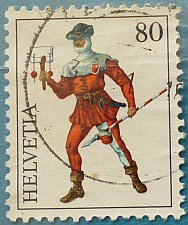 Buy Stamp Switzerland 1974 International Philatelic Exhibition INTERNABA 1974, Basel