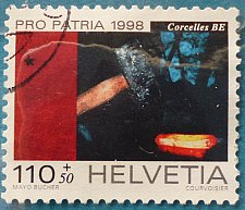 Buy Stamp Switzerland 1998 Pro Patria Culture and Landscapes Hammer Mill of Corcelles