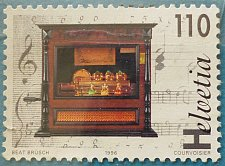 Buy Stamp Switzerland 1996 Music Boxes 110 Centime