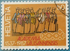 Buy Stamp Switzerland 1987 Anniversaries 450 years of Universities Education