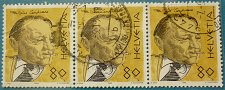 Buy Stamp Switzerland 1990 Famous people Blaise Cendrars (1887-1961) writer & poet 3 no