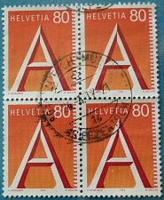 Buy Stamp Switzerland 1993 First Class Mail 80 Centime Block of 4