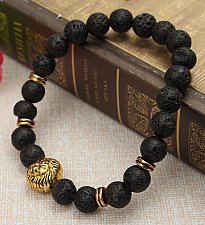 Buy lion head bracelet