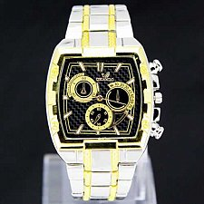Buy Fancy Shape Design Men's Stainless Steel Quartz watch Free shipping