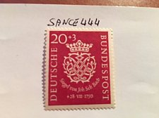 Buy Germany J.S. Bach 20+3p mnh 1950