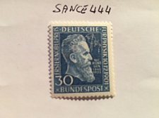 Buy Germany Wilhelm Röngten's Nobel prize mnh 1951