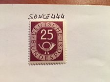 Buy Germany Definitives Posthorn 25p mnh 1951