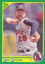 Buy Bert Blyleven - Angels 1990 Score Baseball Trading Card #180