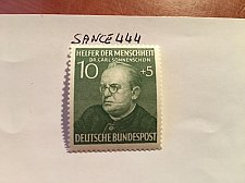 Buy Germany Welfare famous persons 10+5p mnh 1952