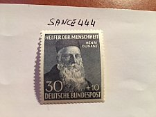 Buy Germany Welfare famous persons 30+10p mnh 1952