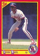 Buy Devon White #312 - Angels 1990 Score Baseball Trading Card