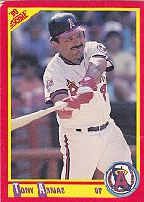 Buy Tony Armas #378 - Angels 1990 Score Baseball Trading Card