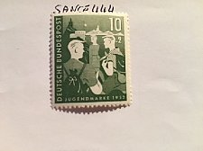 Buy Germany Youth 10+2p mnh 1952