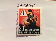 Buy Germany Traffic safety mnh 1953