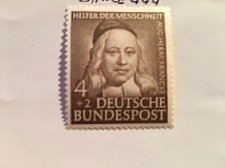 Buy Germany Charity 4+2p mnh 1953