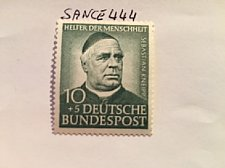 Buy Germany Charity 10+5p mnh 1953