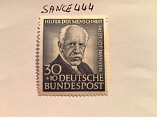 Buy Germany Charity 30+10p mnh 1953