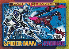 Buy Spiderman vs Cardiac - 1993 Marvel Comic Trading Card #175