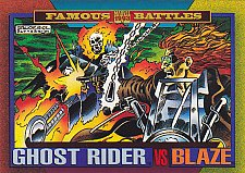 Buy Ghost Rider vs Blaze - 1993 Marvel Comic Trading Card #172