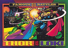 Buy Thor vs Loki - 1993 Marvel Comic Trading Card #150