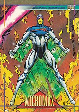 Buy Micromax - 1993 Marvel Comic Trading Card #38