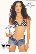Buy Nadine Velasquez - 2003 Bench Warmers Trading Card #255