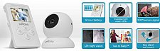 Buy Levana 32000 Lila 2.4-Inch Digital Video Baby Monitor with Talk to Baby Intercom (Whi